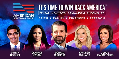 American Freedom Tour Phoenix with Donald Trump Jr, Candace Owens and more tickets
