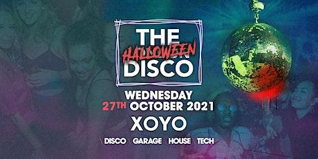 The London Halloween Disco at XOYO tickets