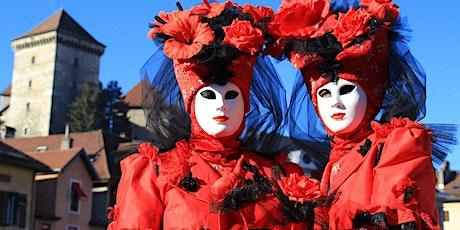 Carnaval Vénitien d'Annecy & Genève 2022 billets
