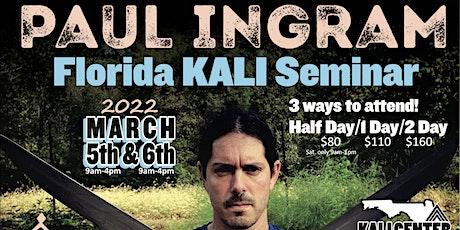 Paul Ingram KALI Seminar 2022 tickets