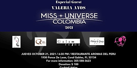Charity  event  for  Smile Train Special Guest Miss Universe Colombia 2021 tickets