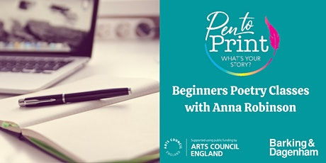 Pen to Print: Beginners Poetry Classes tickets
