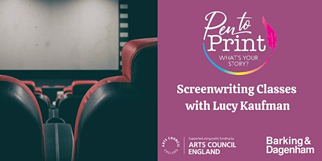 Pen to Print: Screenwriting Classes tickets