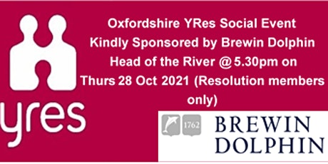 YRes Oxfordshire Social Event at Head of the River, Oxford tickets