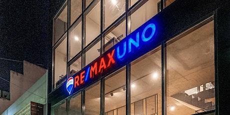 """""""RE/MAX UNO en 60 minutos"""" jueves 11 de noviembre de 2021, 18.30 hs. entradas"""