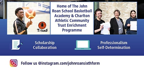 The John Roan Sixth Form Open Evening for current John Roan students tickets