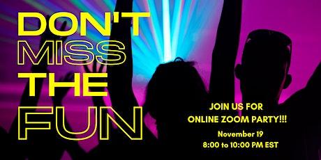 Holiday Bazaar 2021: Kickoff  Zoom Dance Party tickets