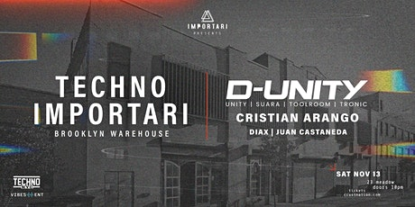 Brooklyn Warehouse | D-Unity | Cristian Arango & More tickets