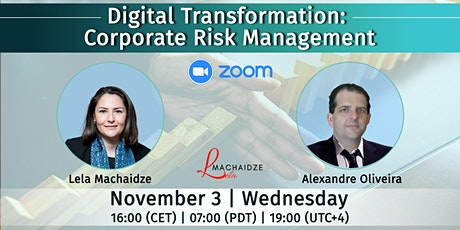 "Free Webinar - ""Digital Transformation: Corporate Risk Management"" tickets"