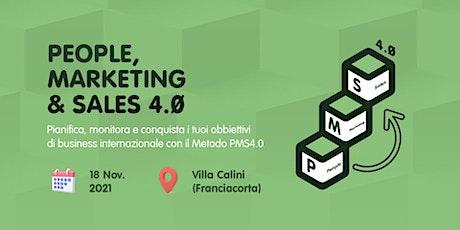 People, Marketing & Sales 4.0 biglietti