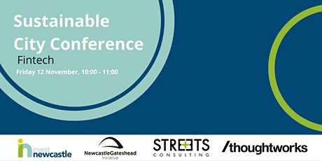 Sustainable City Conference - Fintech tickets