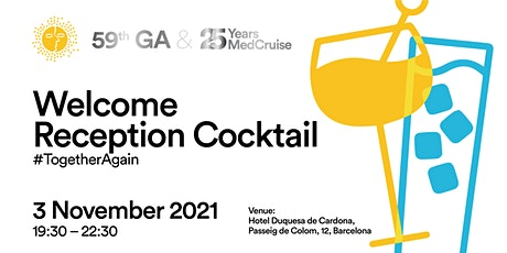 #TogetherAgain cocktail  reception. By invitation only tickets