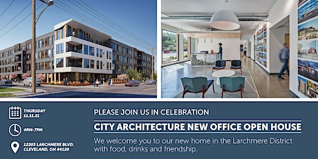 City Architecture New Office Open House tickets