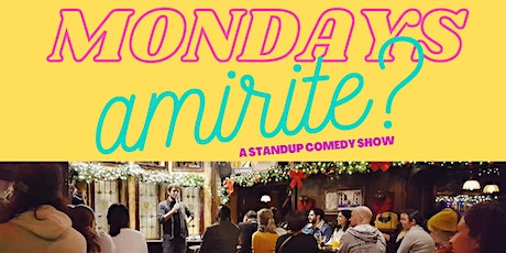 Stand Up Comedy Show ( Monday 8pm ) at The Montreal Comedy Club tickets
