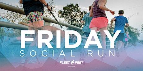 Friday Social Run - Nov. 12 tickets
