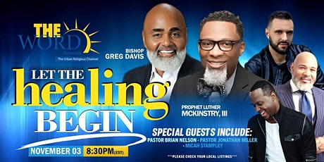 Live Healing Service Presented by The Word Network tickets