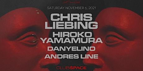 Chris Liebing & Hiroko Yamamura @ Club Space Miami tickets