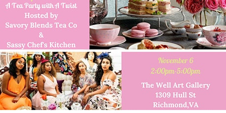 Tea & Cupcake Social - A Tea Party with A Twist tickets