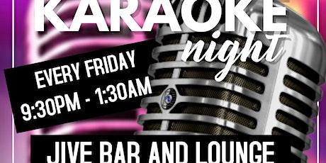 Rockin Karaoke Fridays at Jive Bar and Lounge tickets