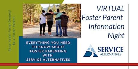 Virtual Foster Parent Information Night 11/16 tickets