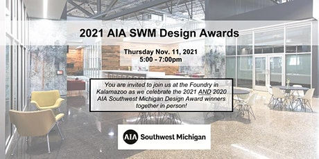2021 AIA SWM Design Awards tickets