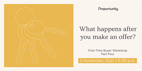 What happens after you make an offer on your dream home? | Part 4 tickets