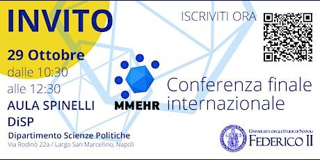 MMEHR: Conferenza finale internazionale biglietti