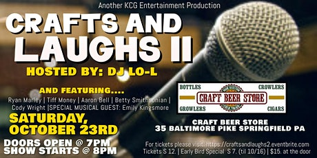 Crafts & Laughs II Comedy Showcase tickets