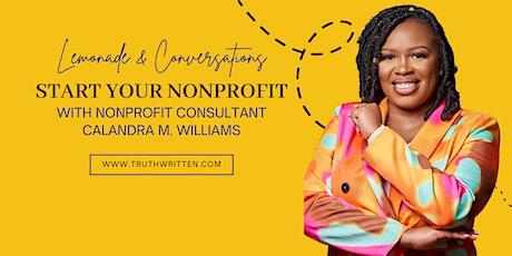 Lemonade & Conversations: Start Your Nonprofit tickets