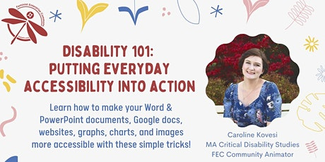Disability 101: Putting Everyday Accessibility Into Action tickets