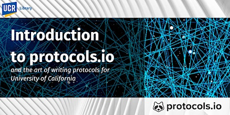 Introduction to protocols.io and the Art of Writing Protocols tickets