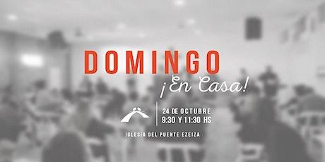 CULTO GENERAL DE DOMINGO 11:30 HS. tickets