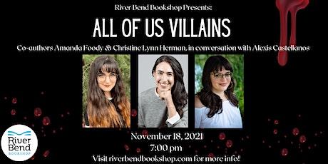 All of Us Villains: Amanda Foody and Christine Lynn Herman tickets