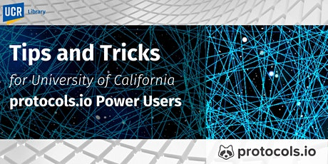 Tips and Tricks for protocols.io Power Users tickets