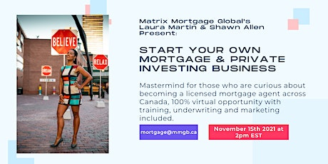 Start Your Own Mortgage Business tickets