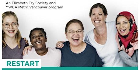 YWCA & EFRY Restart Program Info Session| FREE Employment Readiness Program tickets
