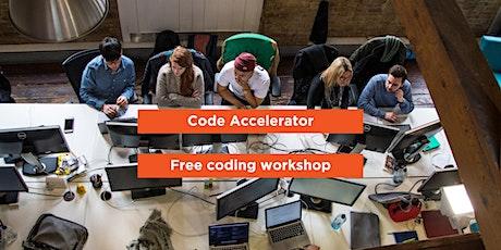 Code Accelerator Workshop tickets