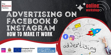 Advertising on Facebook and Instagram - 10am tickets