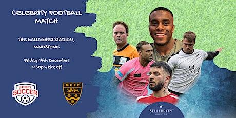 Street Soccer Foundation Celebrity Charity Football Match @Maidstone  Utd tickets