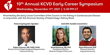 10th Annual KCVD Early Career Symposium tickets