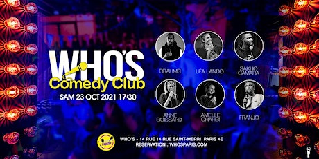 Franjo , Amelle Chahbi and Friends ! billets