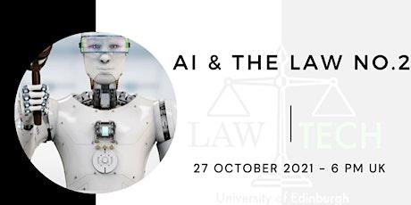 AI & the Law No.2 tickets