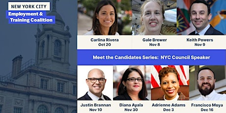 Meet the Candidates: NYC Council Speaker tickets