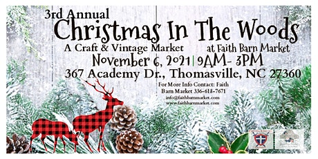 Christmas In The Woods Festival tickets
