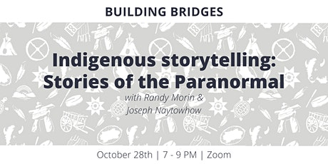 Indigenous storytelling: Stories of the Paranormal tickets