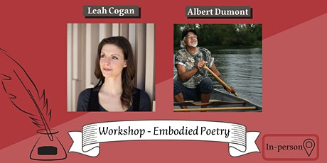 Workshop - Embodied Poetry (In-person) tickets