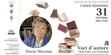 Dacia Maraini | La rivoluzione gentile biglietti