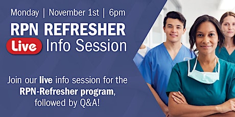 Refresher RPN: Live Info Session tickets