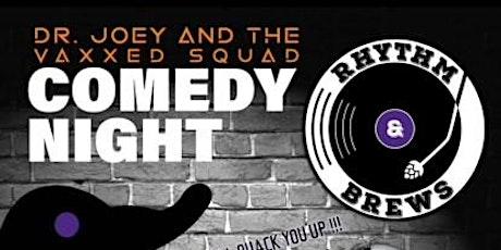 Comedy Night @ Rhythm & Brews tickets