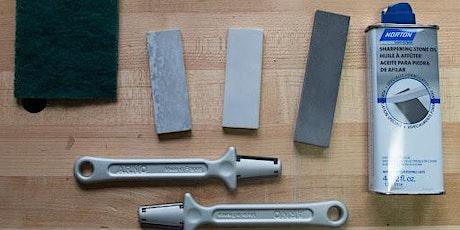Tool Sharpening Workshop 2021 tickets